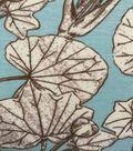 Knit Fabric 57\u0027\u0027-Lily Pads on Aqua