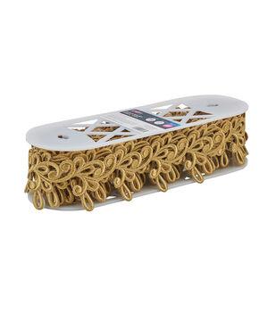 Yaya Han Collection Gold Milan Swirl Trim