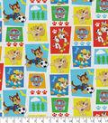 Nick Junior Paw Patrol Flannel Fabric 43\u0022-Block