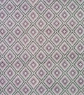 Luxe Fleece Fabric-Pink Large Diamond