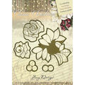 Amy Design Classic Christmas Die-Roses