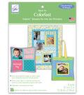 June Tailor Colorfast Sew-In Inkjet Fabric Sheets-8-1/2\u0022x11\u0022 10/Pkg