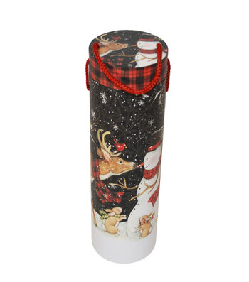 Christmas Wine Storage Tube-Sam the Snowman