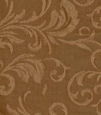 """Signature Series Solid Jacquard Fabric 54""""-Bronze"""