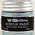 Prima Marketing Art Alchemy .17 oz. Acrylic Paint-Opal Magic Pink-Blue