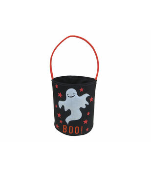 Maker's Halloween Trick-or-treat Bag-Ghost & Boo!