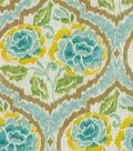 Home Decor 8\u0022x8\u0022 Fabric Swatch-Dena Nadia Green Tea