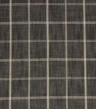 "Richloom Studio Multi-Purpose Decor Fabric 56""-Petersburg/Charcoal"