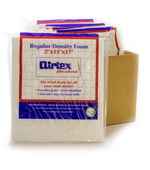 "Airtex Case Of 6 Regular Density Chair Pad-15""x17""x2"""
