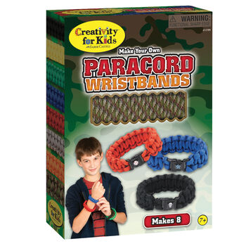 Creativity For Kids Make Your Own Paracord Wristbands Kit