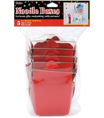 Darice 8 oz. Noodle Boxes-5PK