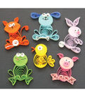 Quilled Creations Quilling Kit-Animal Buddies