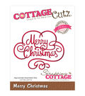 CottageCutz Elites Merry Christmas Dies