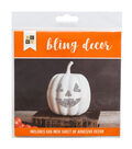 DCWV Halloween Bling Décor-Jack o Lantern