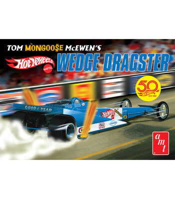 AMT Tom Mongoose McEwen Wedge Dragster 1:25 Scale Model Car Kit