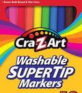 CraZart 10ct Washable Super Tip Markers