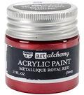 Prima Marketing Art Alchemy 1.7 oz. Acrylic Paint-Metallique Royal Red