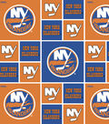 New York Islanders Cotton Fabric -Block