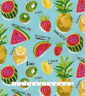Genevieve Gorder Outdoor Fabric 54\u0027\u0027-Fresh Sliced Calypso