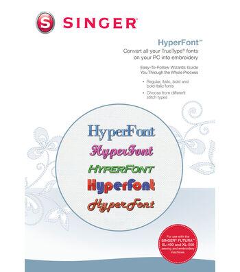 Singer XL 400 Hyperfont Software