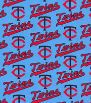 "Minnesota Twins Cotton Fabric 44""-Cooperstown, , hi-res"