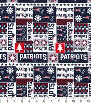New England Patriots Cotton Fabric-Winter, , hi-res