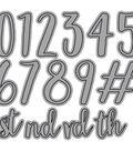 Elizabeth Craft Metal Die-Blackboard Numbers