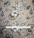 Tropic Time Micro Pique Fabric 58\u0027\u0027-Black & White Tropical