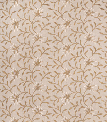 "Eaton Square Lightweight Decor Fabric 52""-Greenville/Linen"