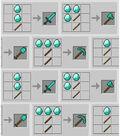 Minecraft Cotton Fabric -Crafting Window