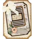 Tonic Studios Essentials Artist Trading Card 5 pk Dies-A Note to Say