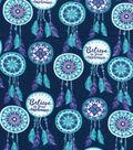 Snuggle Flannel Fabric 48\u0027\u0027-Dream Catcher