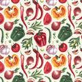 Novelty Cotton Fabric-Garden Vegetables