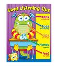 Carson-Dellosa Good Listening Tips Chart 6pk
