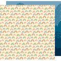 American Crafts Shimelle Box of Crayons 12\u0027\u0027x12\u0027\u0027 Cardstock-In the Sky