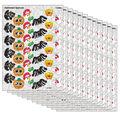 Trend Enterprises Inc. Halloween Sparkles Sparkle Stickers, 72 Per Pack