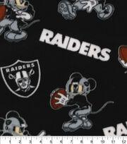 Oakland Raiders Fleece Fabric-Mickey Mouses, , hi-res