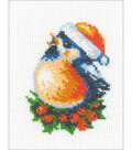 RIOLIS Counted Cross Stitch Kit 5\u0022X6.25\u0022-Bullfinch