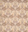 Home Decor 8\u0022x8\u0022 Fabric Swatch-Print Fabric Eaton Square Reuben Wheat