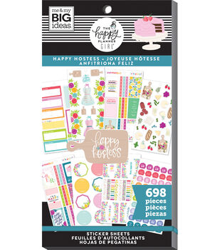 The Happy Planner Girl Sticker Value Pack-Happy Hostess