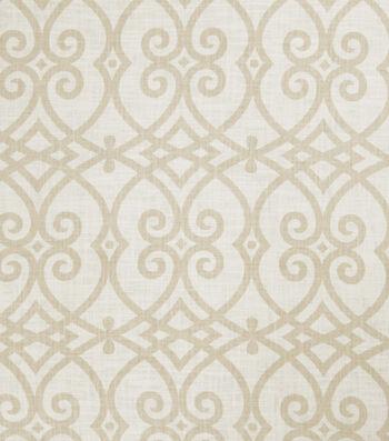 "Jaclyn Smith Upholstery Fabric 54""-Gatework Rot/Cashew"