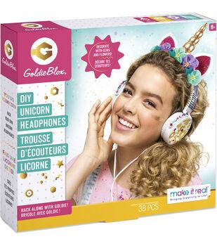 GoldieBlox DIY Unicorn Headphone