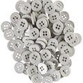 My Favorite Colors 100 pk 0.5\u0027\u0027 Buttons-Gray