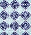 Snuggle Flannel Print Fabric 42\u0022-Blue Ink Print