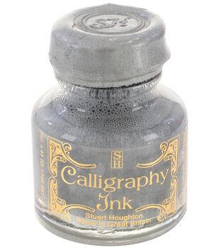 Manuscript 6 pk 1.01 fl. oz. Calligraphy Ink Bottles-Silver