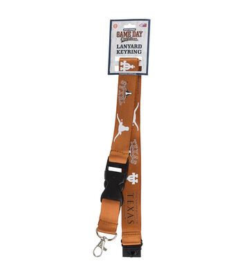University of Texas Longhorns Lanyard Keychain