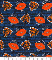 Chicago Bears Cotton Fabric Legacy, , hi-res