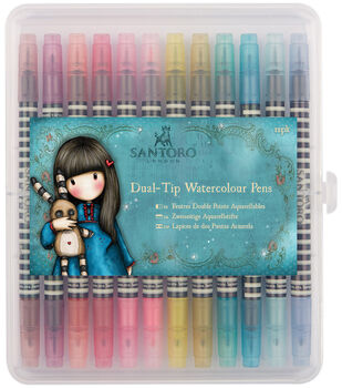 Santoro Watercolour Dual-Tip Pens-Brights