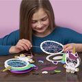 Craft-Tastic Stacked String Art Unicorn