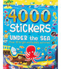Parragon 4000 Stickers Kit-Under The Sea